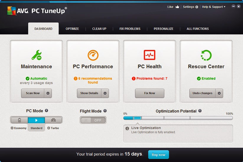AVG-PC-TuneUp2015 crack