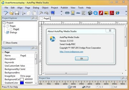 AutoPlay Media Studio 8.2.0.0 Crack Fully Activated2
