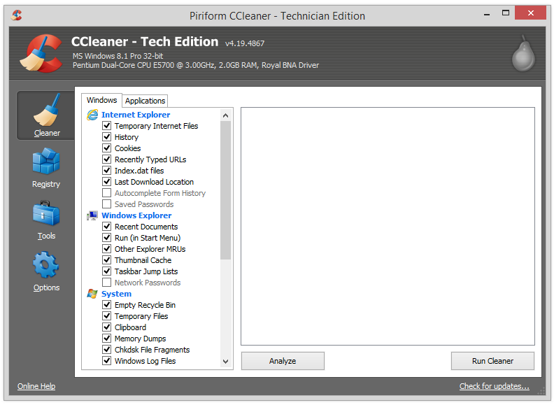 Free Download CCleaner Professional Plus 4.19.4867 Full Version Cracked with Keygen and Serial Key Source: CCleaner Professional Plus 4.19 Crack Keygen Serial Free Download Full Version | OS Busters | A Tech Blog