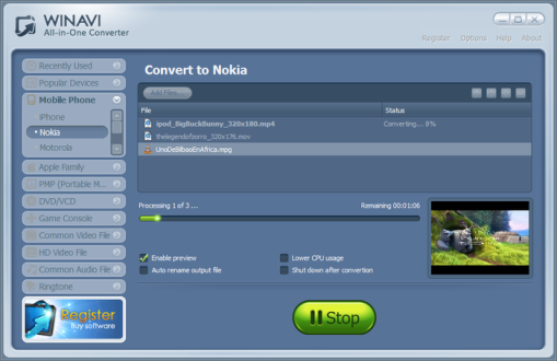 WinAVI All In One Converter Crack Download Full Version Free2