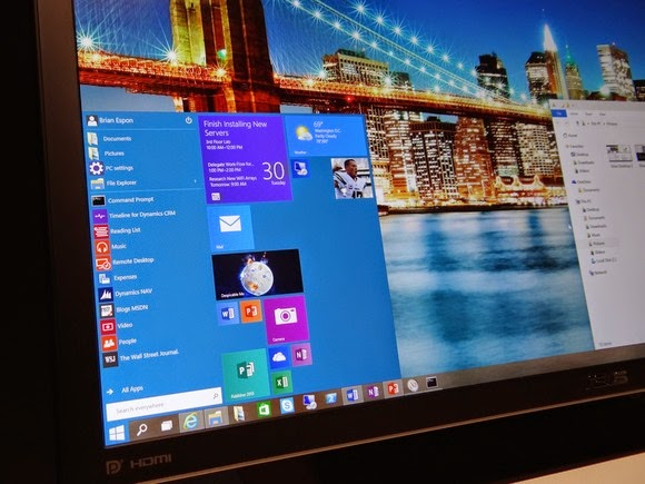 windows10-ISO Fully Active start-menu-on-screen