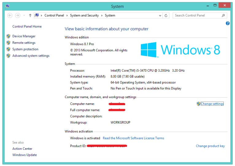 Windows 8.1 OEM Core Single Language 64 + 32Bit ISO