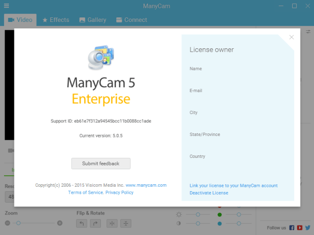 ManyCam Enterprise v5.0.5 Crack Download [Latest] 2