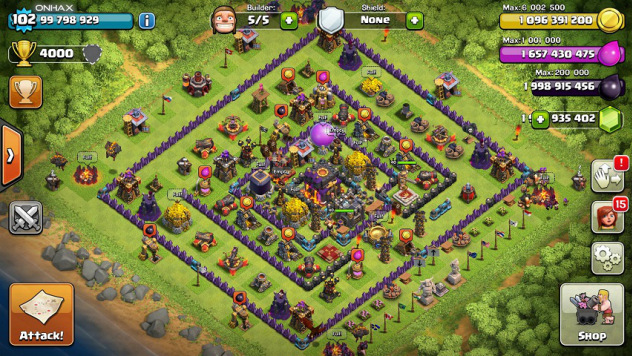 Clash of Clans Unlimited Mod/Hack v7.200.19 APKs Download