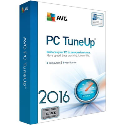 AVG PC TuneUp 2016 Crack + Serial Key Generator