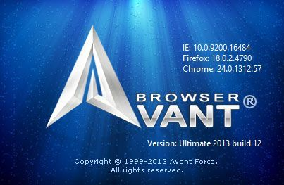 Avant Browser 2016 Build 2