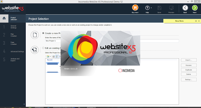 Incomedia WebSite X5 Professional 12 Full + Keygen