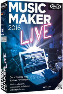 MAGIX Music Maker 2016 Live Preactivated ISO
