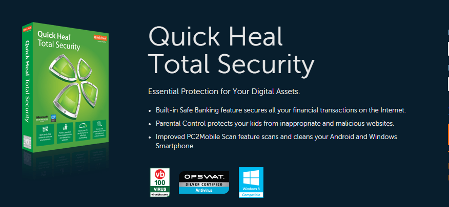 quick heal total security 2016 registration key