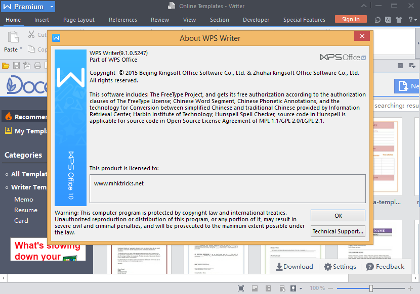 Download wps office cracked version