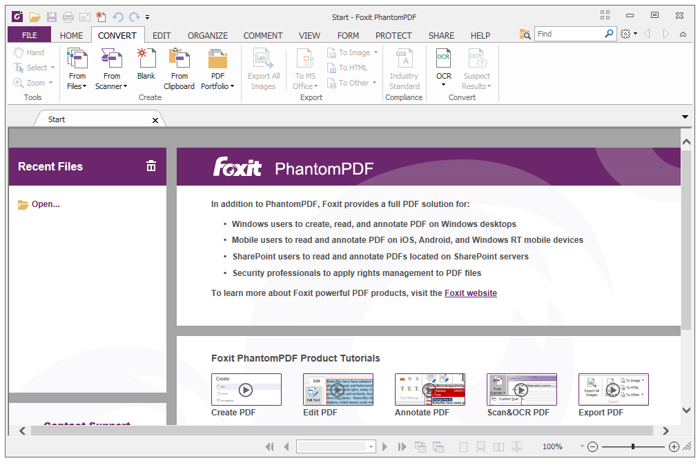 Foxit Phantompdf Business 7.3.0.118 Crack