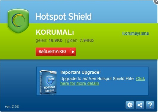Hotspot Shield VPN Elite 5.20.14