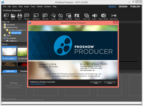 ProShow Producer 7 Crack Latest Version With Serial Key