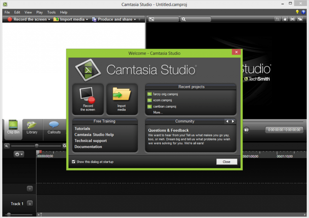 Camtasia Studio 8 Free Download is basically Video Editing software . we can edit own video as well through Camtasia Studio 8 Download . there is no need any camera or any webcam in front of desktop . Camtasia Studio 8 Free Download For Windows 7 help us its record video and audio as well as. we can make tutorial video or any video presentation through this software .
