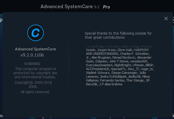 Advanced SystemCare Pro 9 2 Crack Plus Serial Key Download