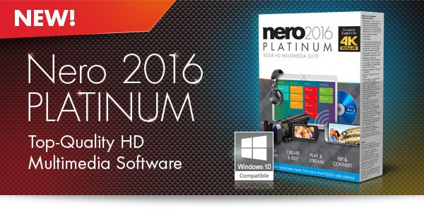 Download Nero 2016 Platinum Retail v17.0.04500 Crack & Serial Key