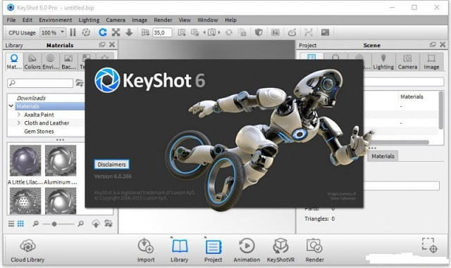 Luxion Keyshot 6.1 Cracks