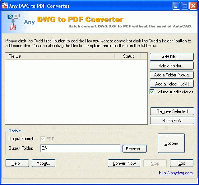 Any PDF to DWG Converter 2016 Crack