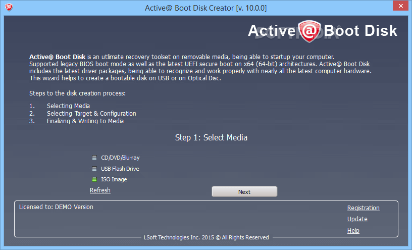 Download Active Boot Disk Suite 10.5.0 serial Key Free
