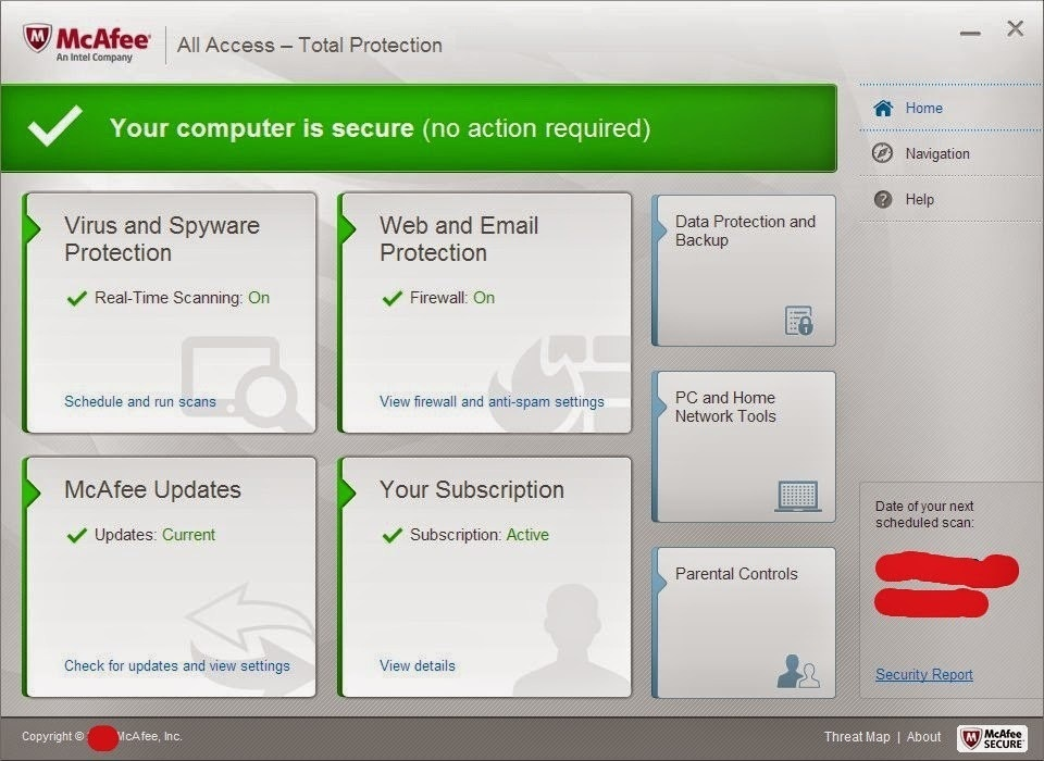 McAfee internet security full version download free