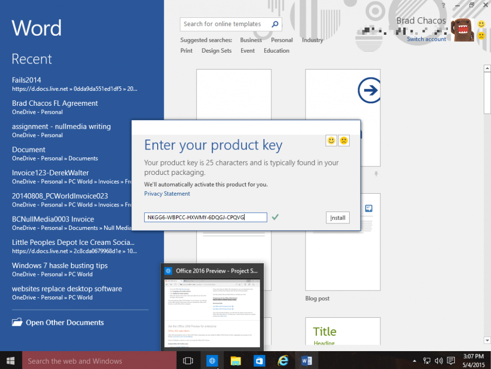 free product key for microsoft office 365