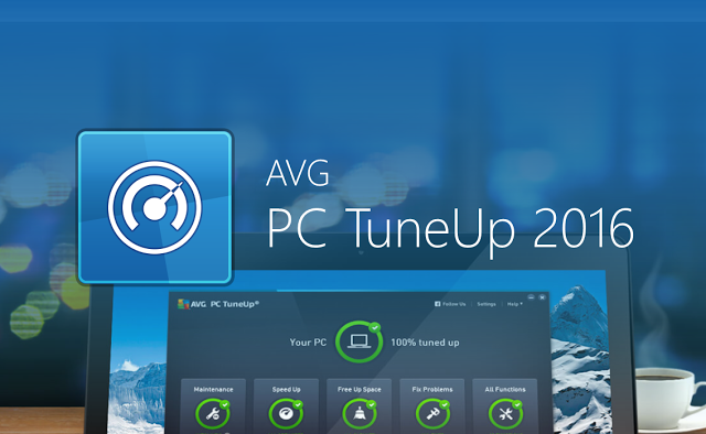AVG PC TuneUp 2016 Activation Serial Key