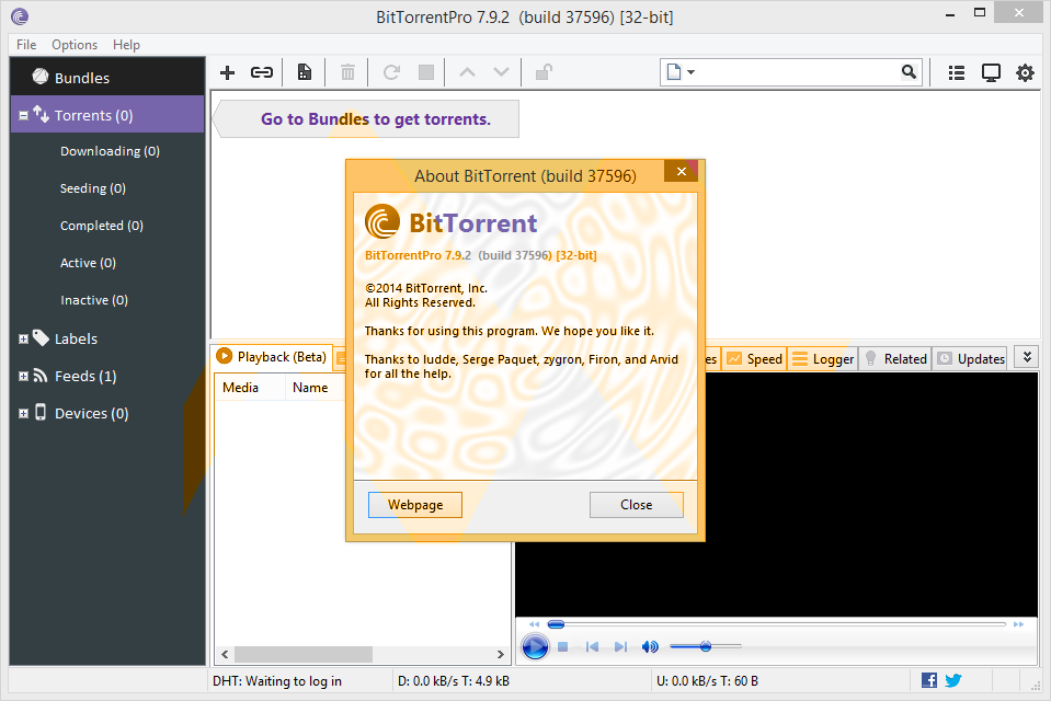 BitTorrent Pro 7.9.2 Final Full Version
