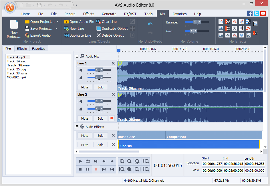 AVS Audio Editor 8.2.1.513 Crack Full version