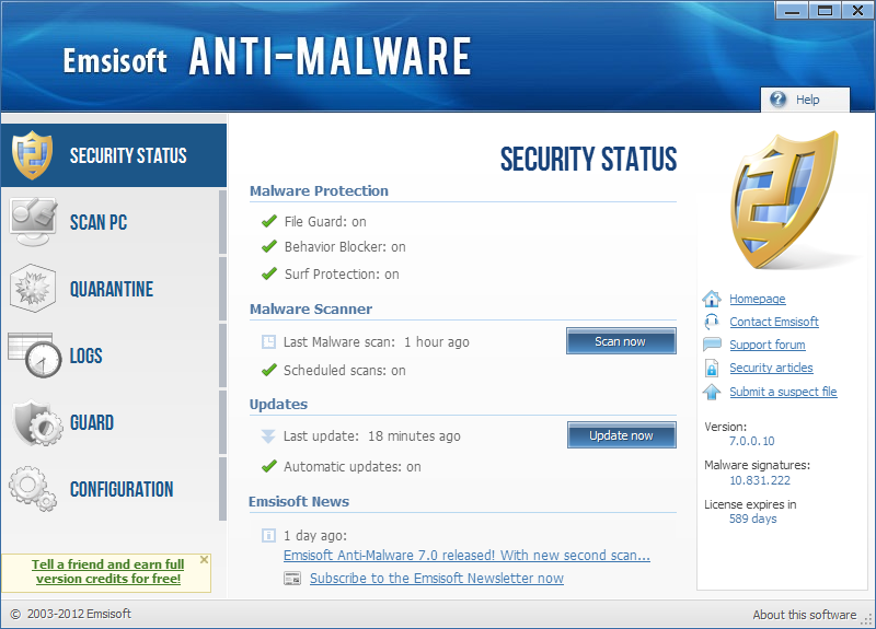 Emsisoft Anti-Malware 11.0.0.6054 Final