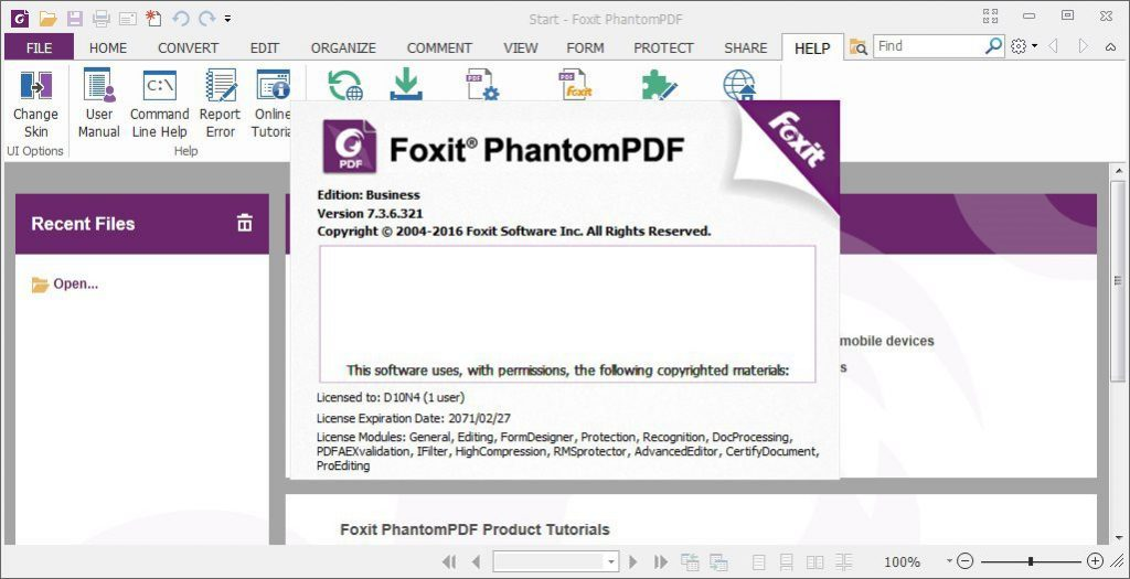 Foxit PhantomPDF Business Full Version
