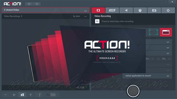 Mirillis Action! 2.3.0 Crack Full Version Download
