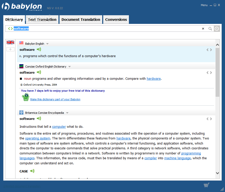 Babylon Pro NG 11.0.0.22 Crack Torrent free 1