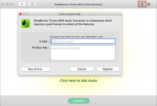 NoteBurner iTunes DRM Audio Converter crack key