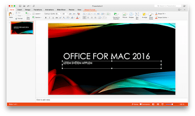 ms office 2016 for mac  with crack