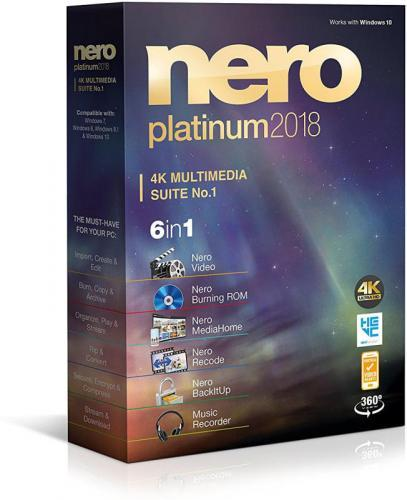 Nero Platinum 2018 Suite Crack + Serial Key (Win)