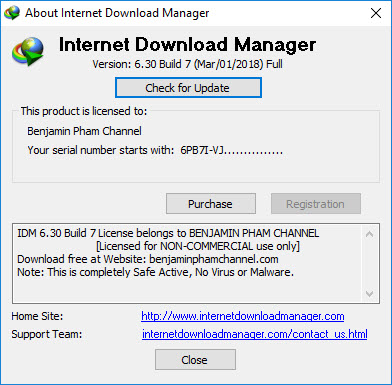 serial key internet  manager 6.30