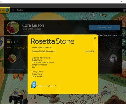 Rosetta Stone Totale Torrent MAC Crack