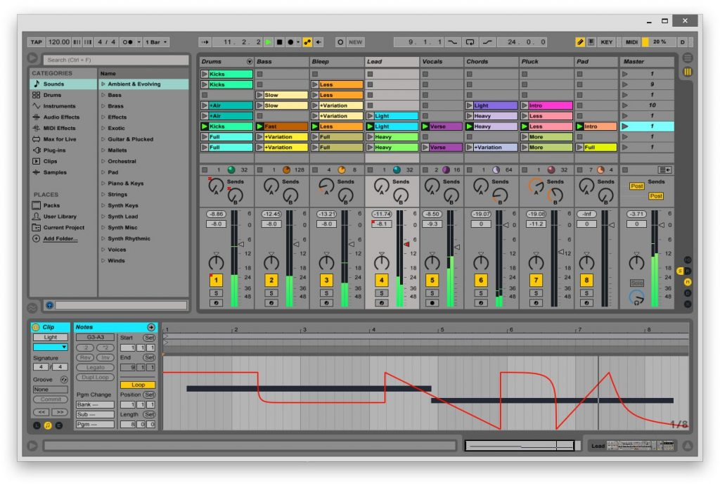 download midi files for ableton 9 live