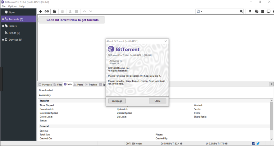 Bit torrentpro Crack download